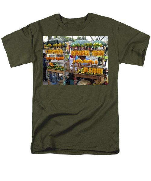 Fruit Stand Antigua  Guatemala T-Shirt by Kurt Van Wagner