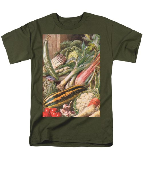 Garden Vegetables Men's T-Shirt  (Regular Fit) by Louis Fairfax Muckley