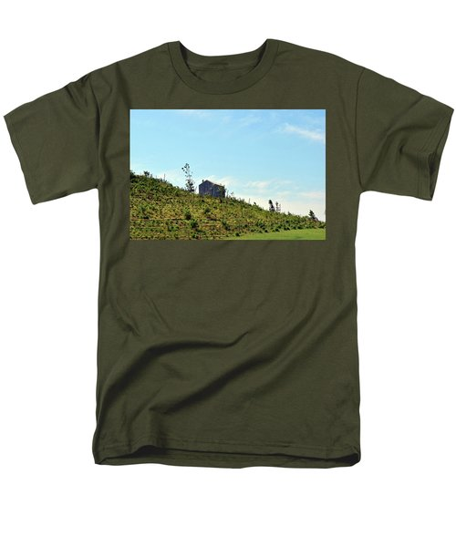 Governors Island Hills Men's T-Shirt  (Regular Fit) by Sandy Taylor