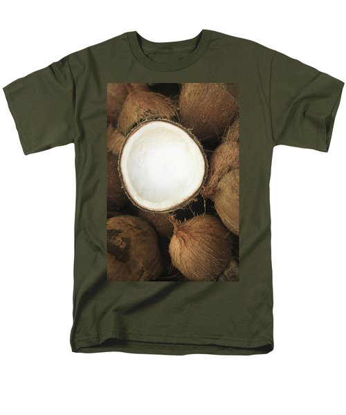 Half Coconut T-Shirt by Brandon Tabiolo - Printscapes