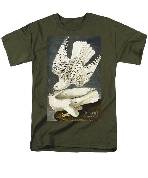 Iceland Or Jer Falcon Men's T-Shirt  (Regular Fit) by John James Audubon