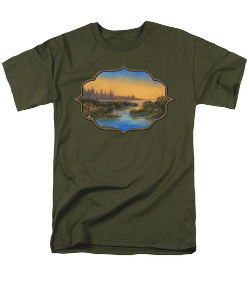 In The Distance Men's T-Shirt  (Regular Fit) by Anastasiya Malakhova