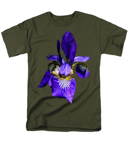 Iris Versicolor Men's T-Shirt  (Regular Fit) by Mark Myhaver