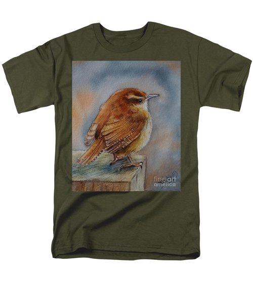 Little Friend Men's T-Shirt  (Regular Fit) by Patricia Pushaw