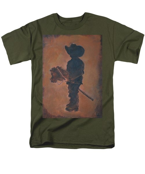 Little Rider T-Shirt by Leslie Allen