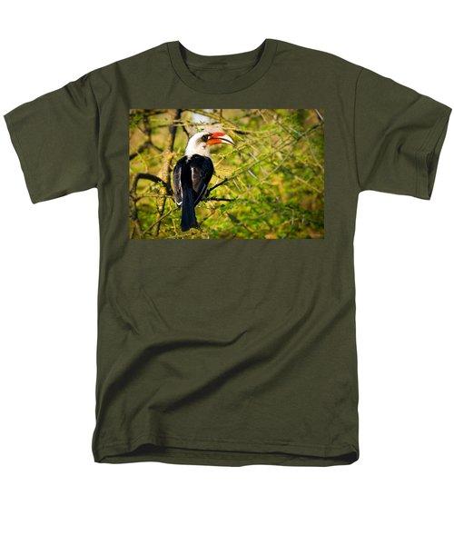 Male Von Der Decken's Hornbill Men's T-Shirt  (Regular Fit) by Adam Romanowicz