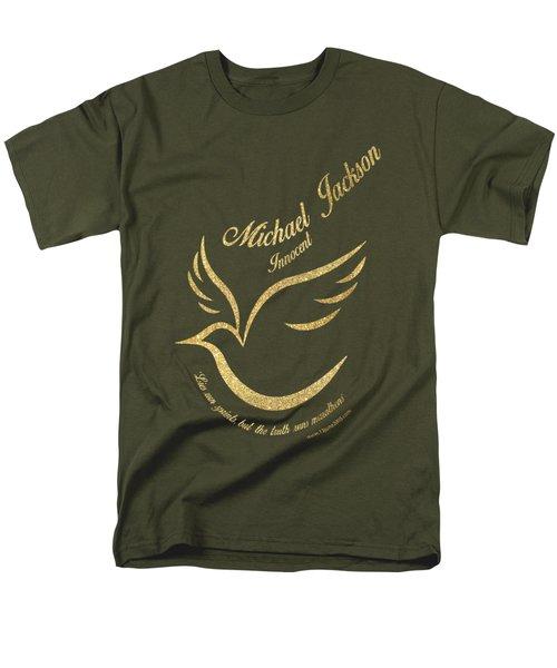 Michael Jackson Golden Dove Men's T-Shirt  (Regular Fit) by D Francis