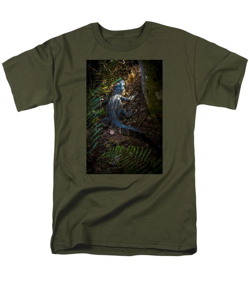 Mr Alley Gator Men's T-Shirt  (Regular Fit) by Marvin Spates