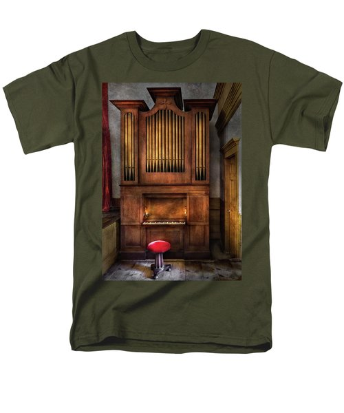 Music - Organist - What a big organ you have  T-Shirt by Mike Savad