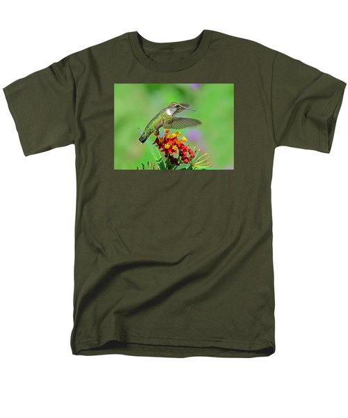 Men's T-Shirt  (Regular Fit) featuring the photograph Nature's Majesty by Rodney Campbell
