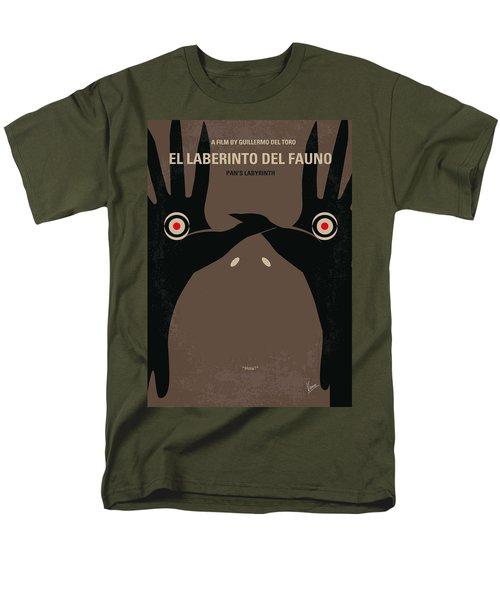 No061 My Pans Labyrinth minimal movie poster T-Shirt by Chungkong Art