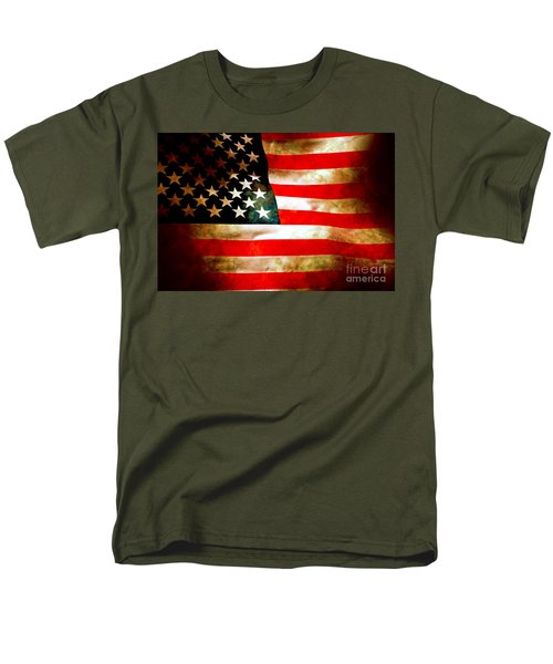 Old Glory Patriot Flag T-Shirt by Phill Petrovic