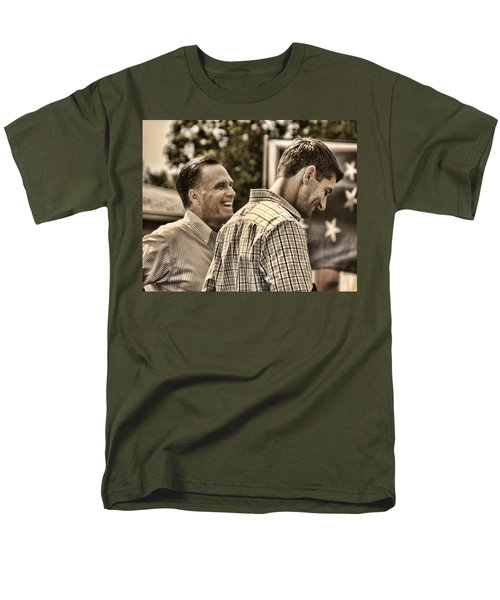 On the Road-Mitt Romney T-Shirt by Joann Vitali