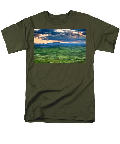Palouse Storm T-Shirt by Mike  Dawson