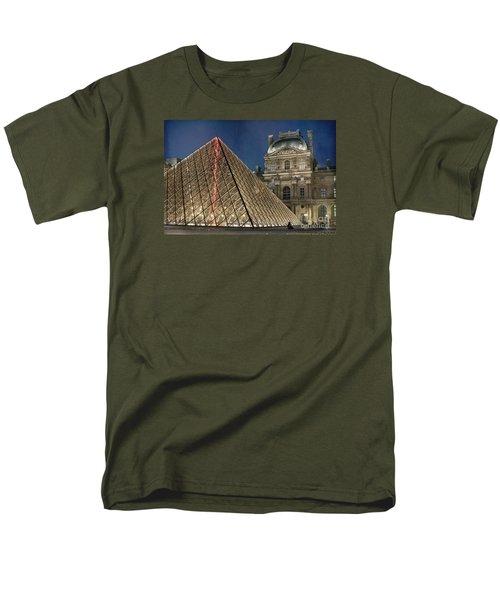 Paris Louvre Men's T-Shirt  (Regular Fit) by Juli Scalzi