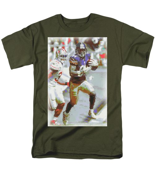 Pittsburgh Steelers Antonio Brown 3 Men's T-Shirt  (Regular Fit) by Joe Hamilton