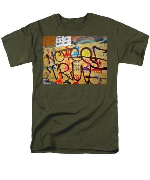 Post No Bills Hillary Clinton  Men's T-Shirt  (Regular Fit) by Funkpix Photo Hunter