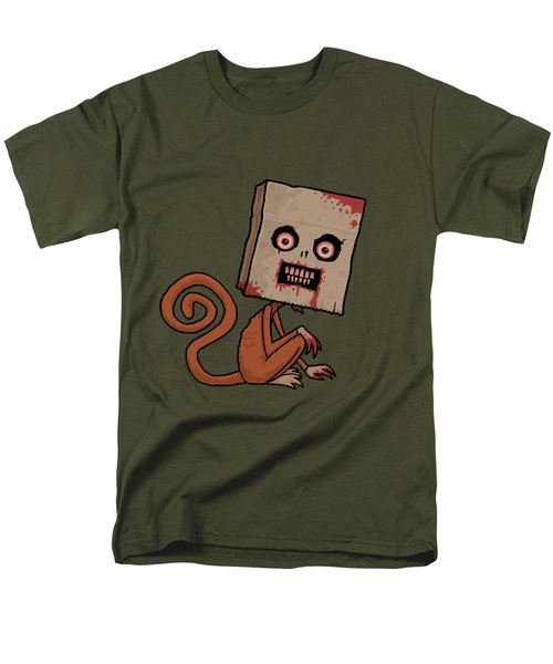 Psycho Sack Monkey Men's T-Shirt  (Regular Fit) by John Schwegel