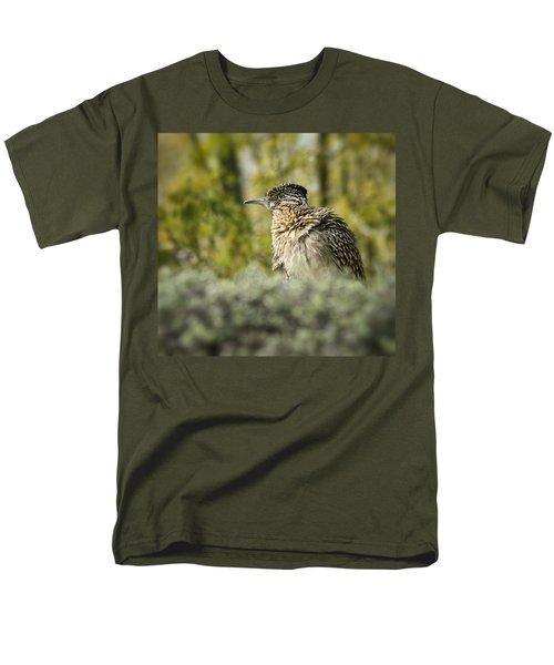 Roadrunner On Guard  Men's T-Shirt  (Regular Fit) by Saija  Lehtonen