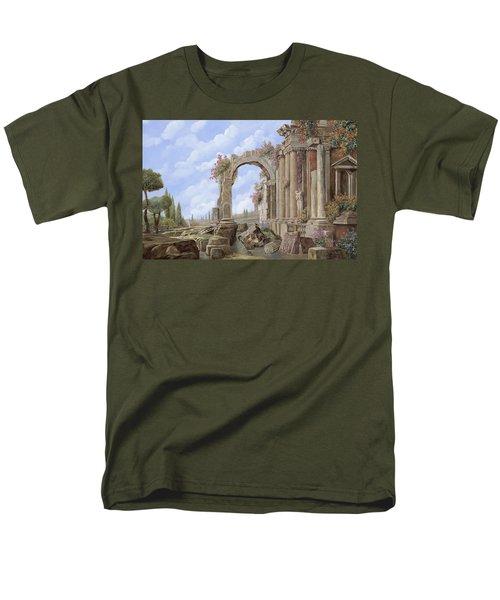 Roman ruins T-Shirt by Guido Borelli