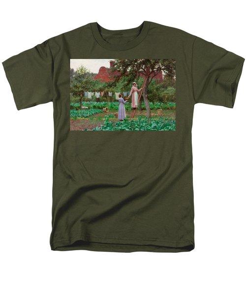 September Men's T-Shirt  (Regular Fit) by Edmund Blair Leighton