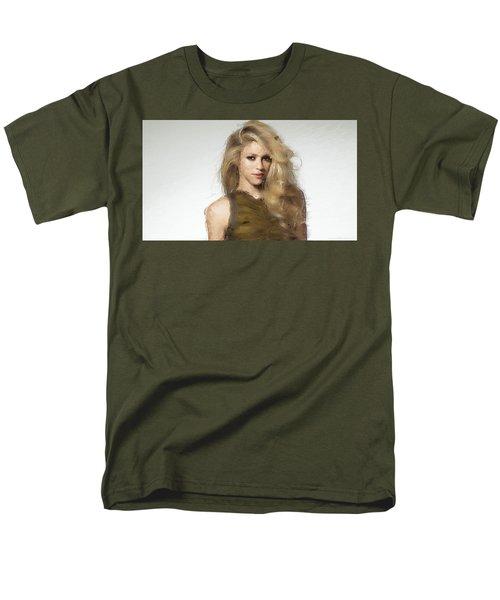 Shakira Men's T-Shirt  (Regular Fit) by Iguanna Espinosa