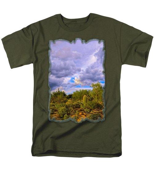 Sonoran Desert V13 Men's T-Shirt  (Regular Fit) by Mark Myhaver
