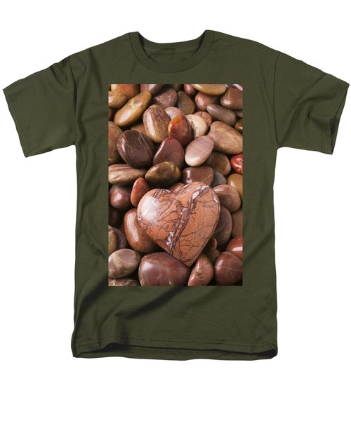 Stone heart T-Shirt by Garry Gay