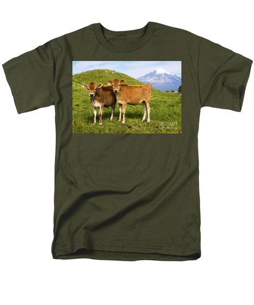 Taranaki, Dairy cows T-Shirt by Himani - Printscapes
