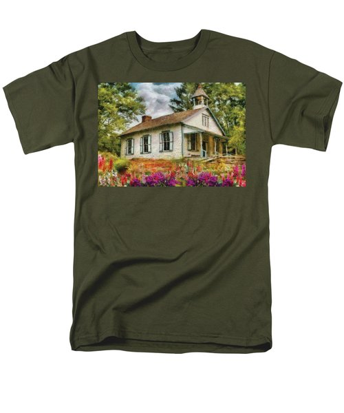 Teacher - The School House T-Shirt by Mike Savad