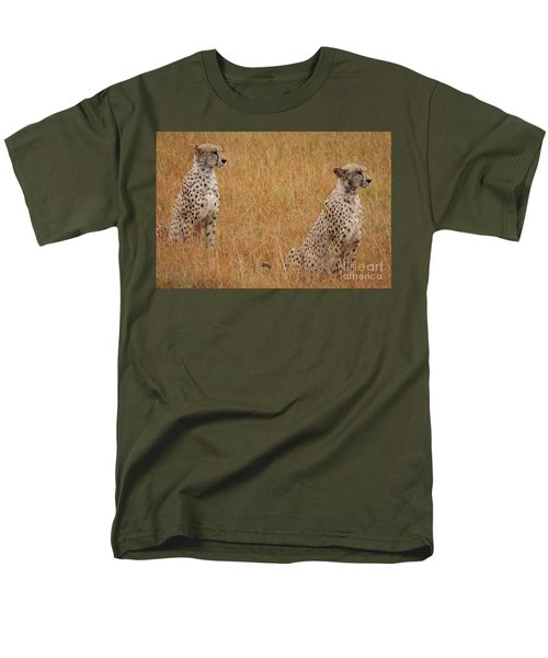 The Cheetahs Men's T-Shirt  (Regular Fit) by Stephen Smith