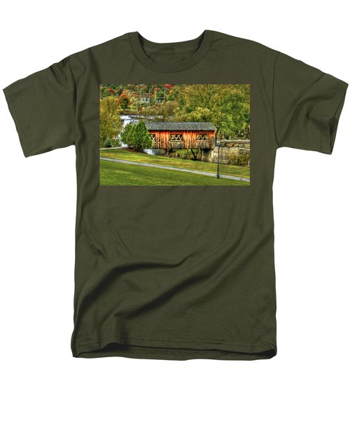 The Kissing Bridge T-Shirt by Evelina Kremsdorf