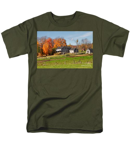 The Old Farm in Autumn T-Shirt by Louise Heusinkveld