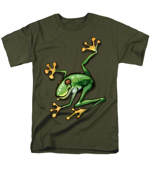 Tree Frog Men's T-Shirt  (Regular Fit) by Kevin Middleton