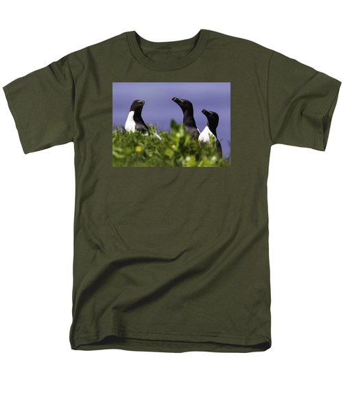 Trio Men's T-Shirt  (Regular Fit) by Marie Elise Mathieu