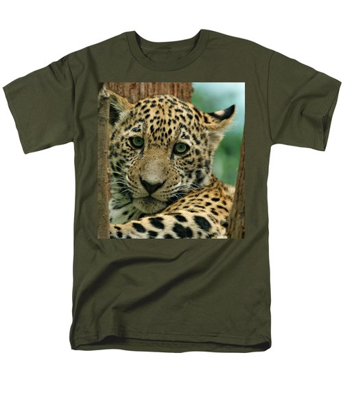 Young Jaguar T-Shirt by Sandy Keeton