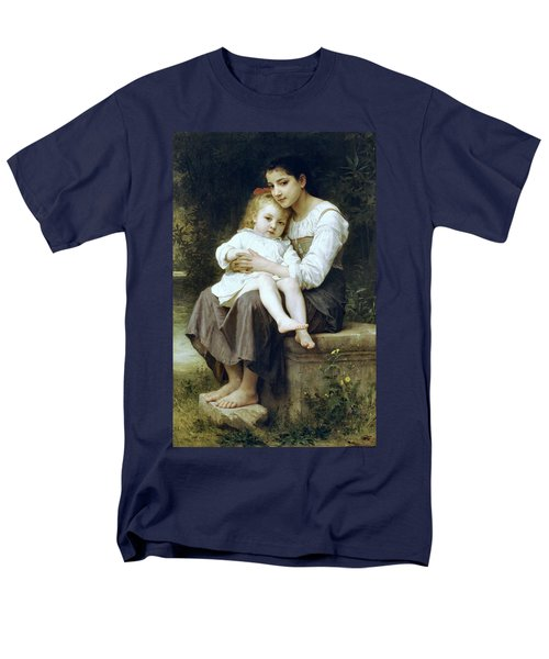 Big Sister T-Shirt by William Bouguereau