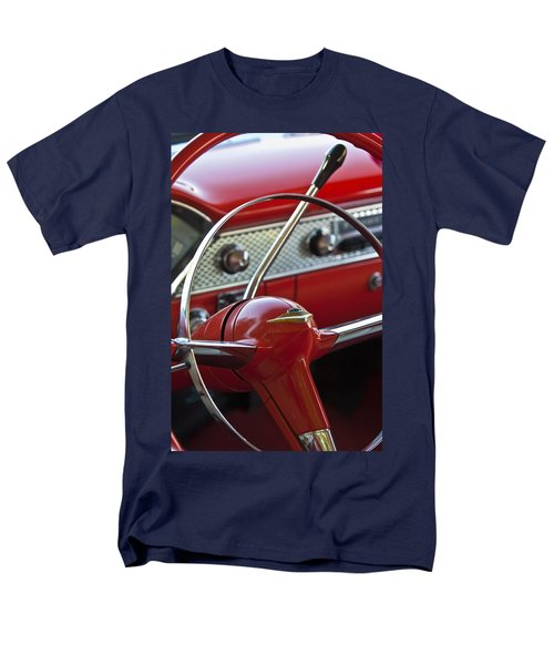 1955 Chevrolet Belair Nomad Steering Wheel T-Shirt by Jill Reger