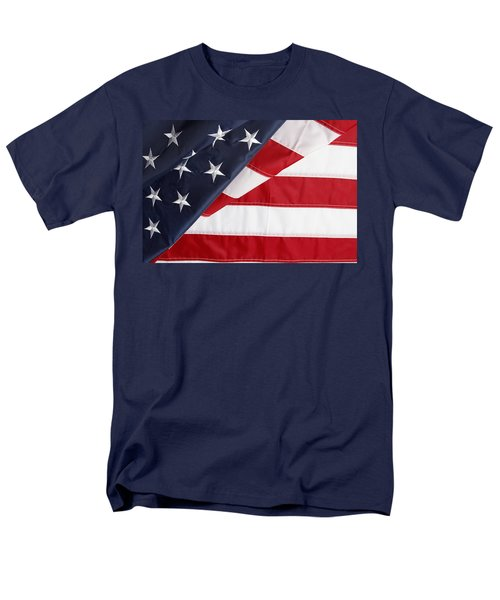 USA flag T-Shirt by Les Cunliffe
