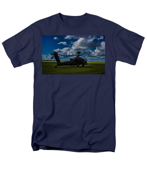 Apache Gun Ship Men's T-Shirt  (Regular Fit) by Martin Newman