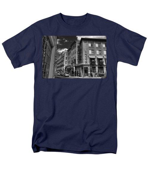 Bacco in Black and White T-Shirt by Joann Vitali