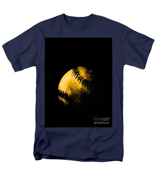 Baseball the American Pastime T-Shirt by Edward Fielding
