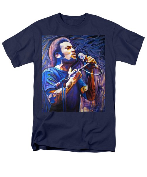 Ben Harper and Mic T-Shirt by Joshua Morton