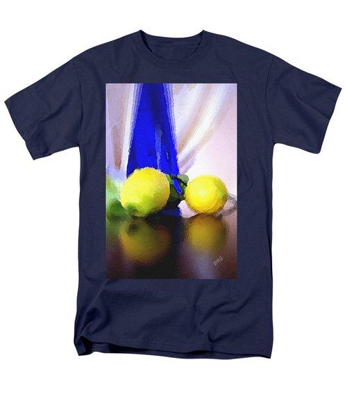 Blue Bottle And Lemons T-Shirt by Ben and Raisa Gertsberg