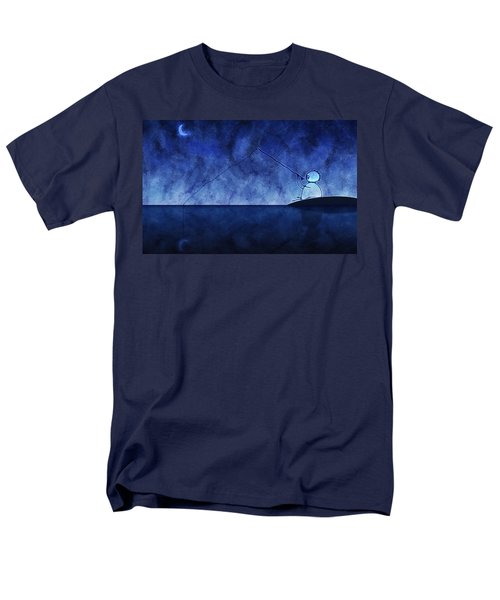 Catching the Moon Under Water T-Shirt by Gianfranco Weiss