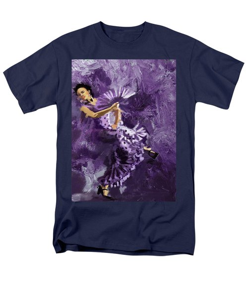 Flamenco Dancer 023 T-Shirt by Catf
