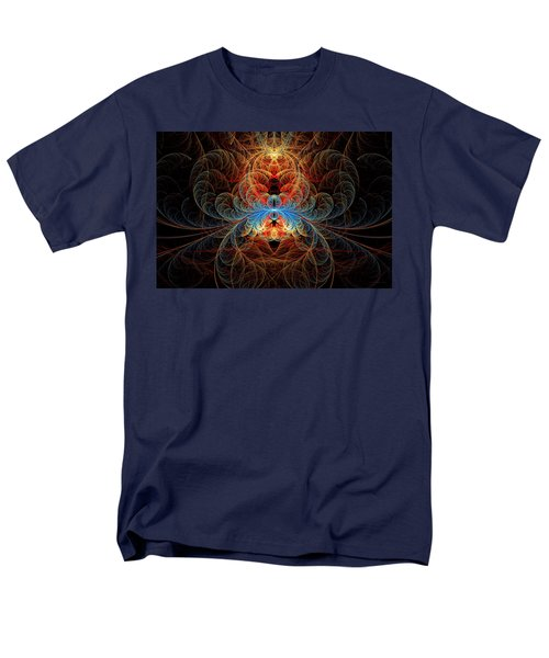 Fractal - Insect - Black Widow T-Shirt by Mike Savad