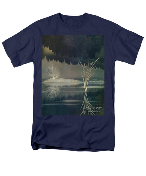 Golden Pond Lily T-Shirt by Bedros Awak