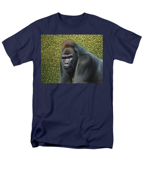 Gorilla with a Hedge T-Shirt by James W Johnson
