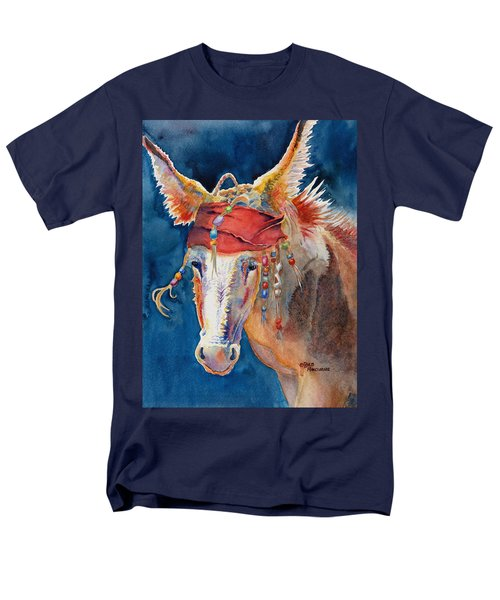 Jack Burro -  Donkey Men's T-Shirt  (Regular Fit) by Deb  Harclerode